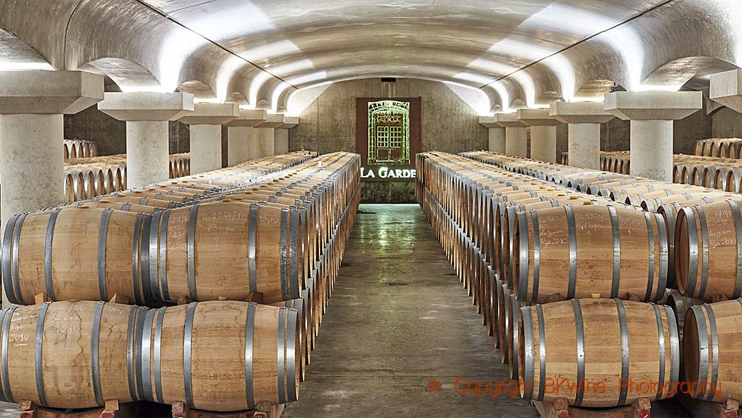 The barrel cellar, Bordeaux